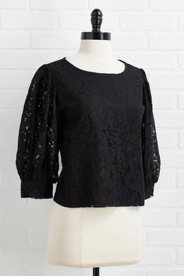 saving lace top