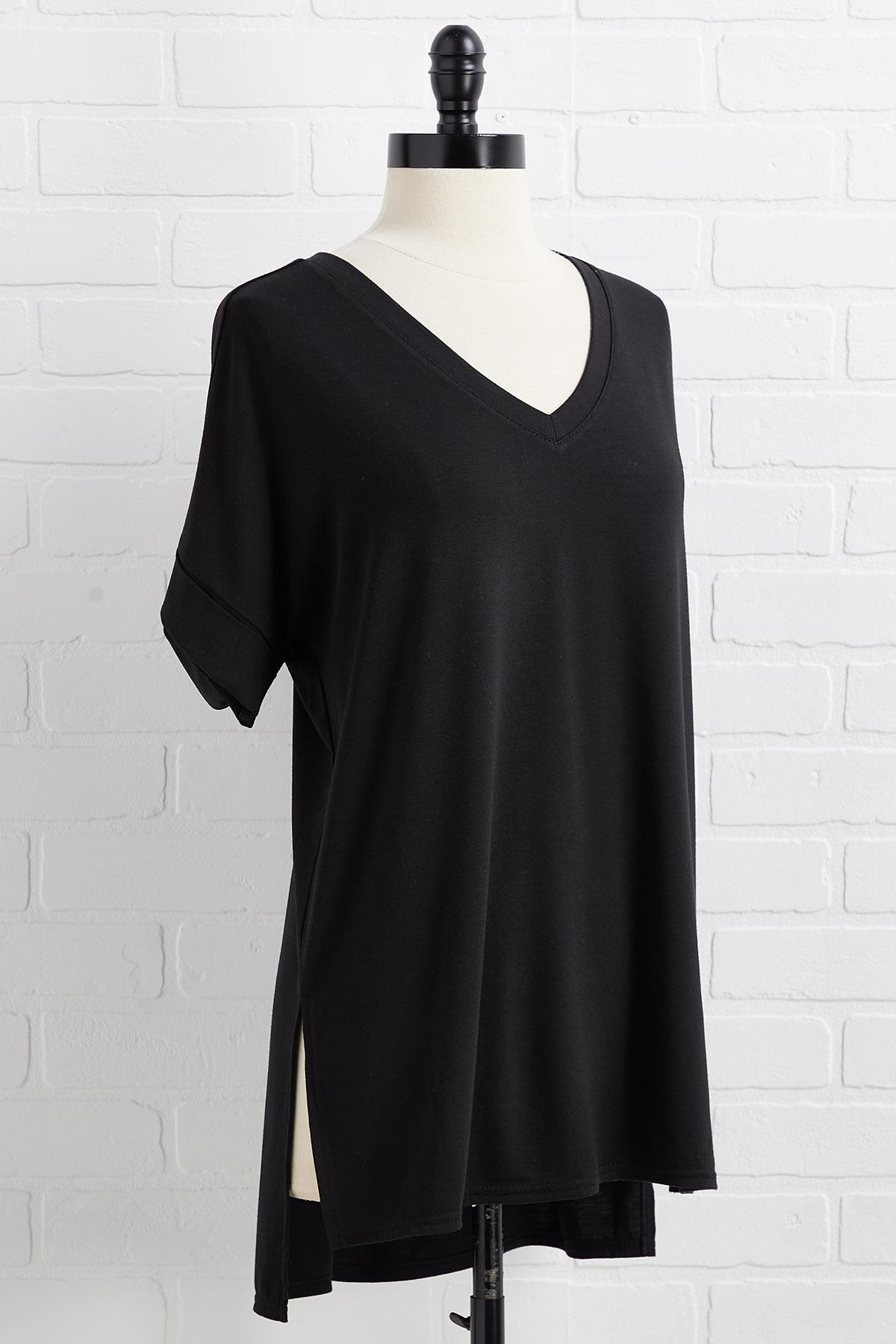 In A Slit Second Top