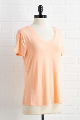 peach sleep tee