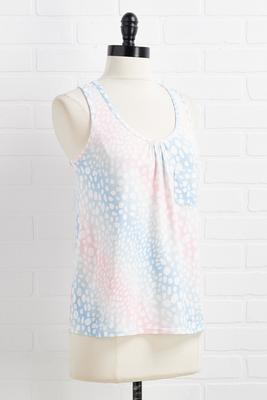 cotton candy dreams sleep tank
