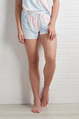 cotton candy dreams sleep shorts