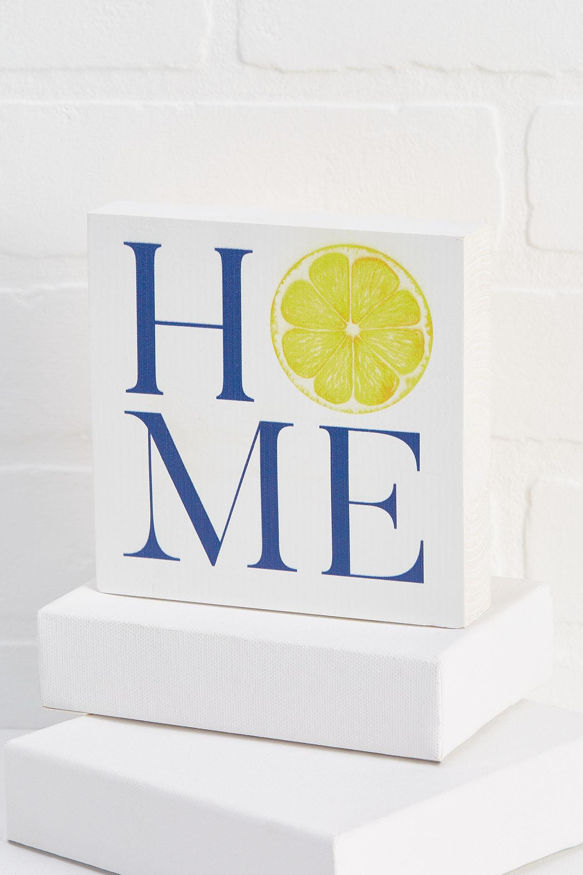 Home Wooden Sign