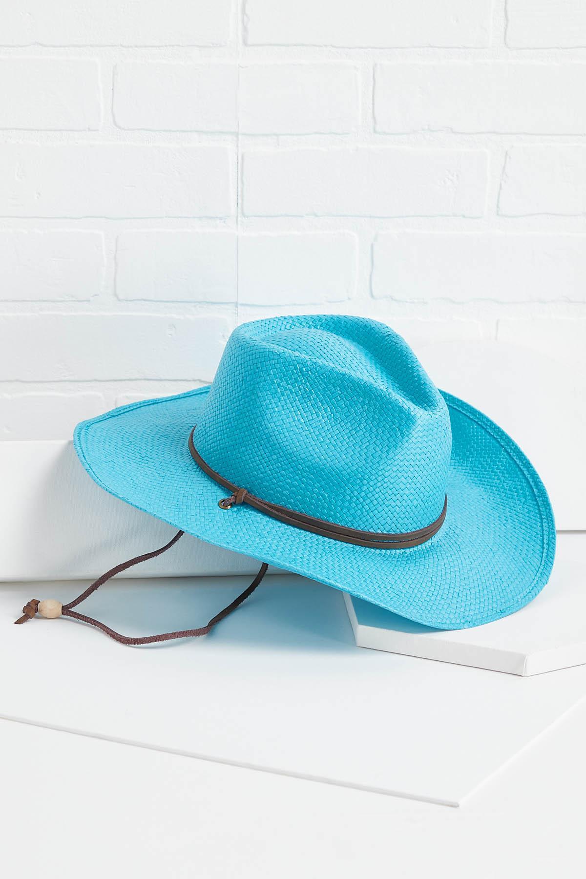 Blue My Mind Western Hat