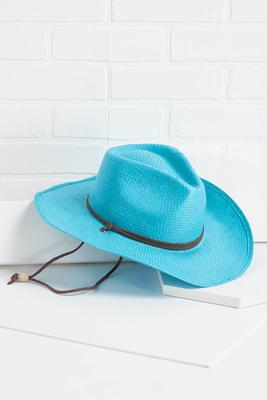 blue my mind western hat