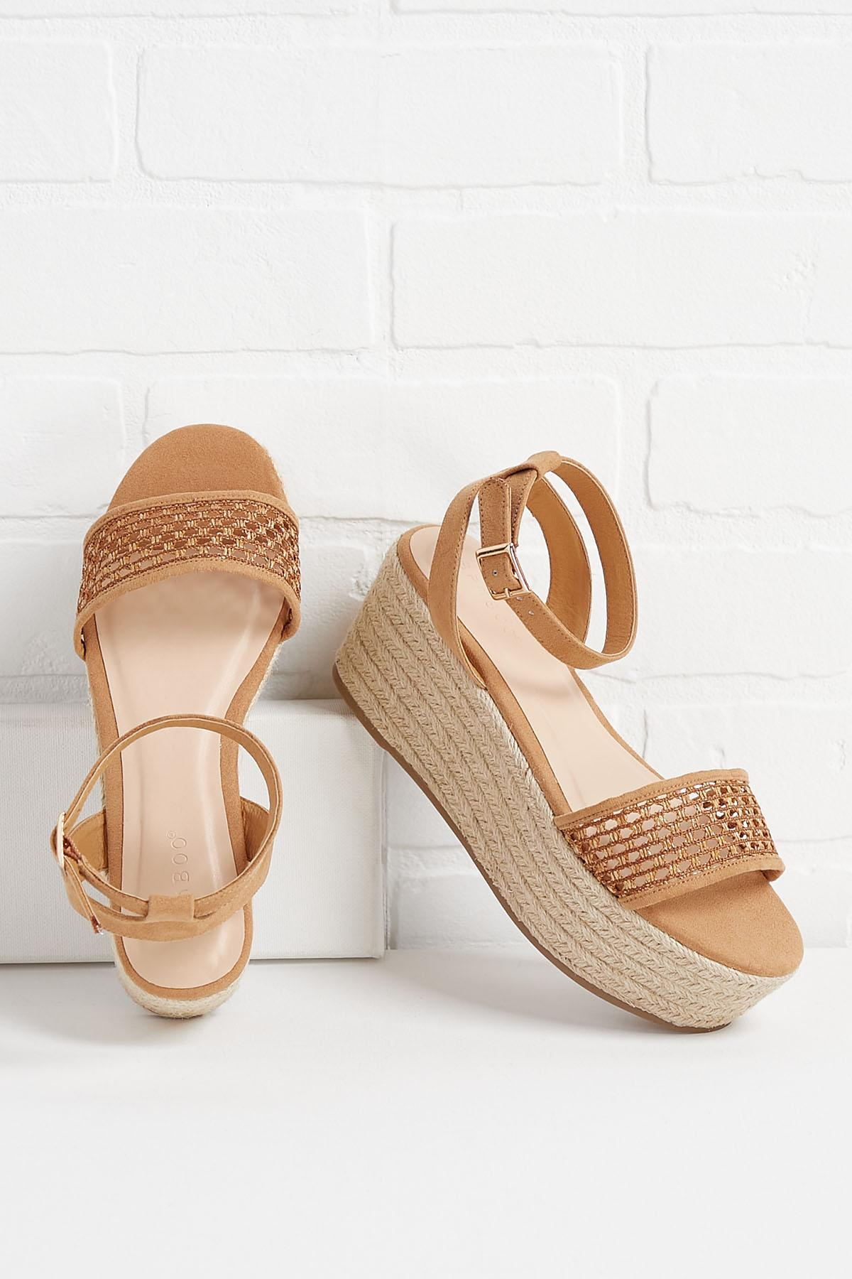 Straw Or Nothing Sandals