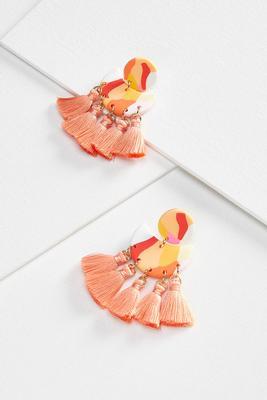 funky fringe earrings