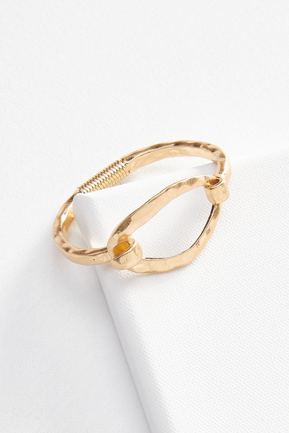 Oval Hinge Bracelet