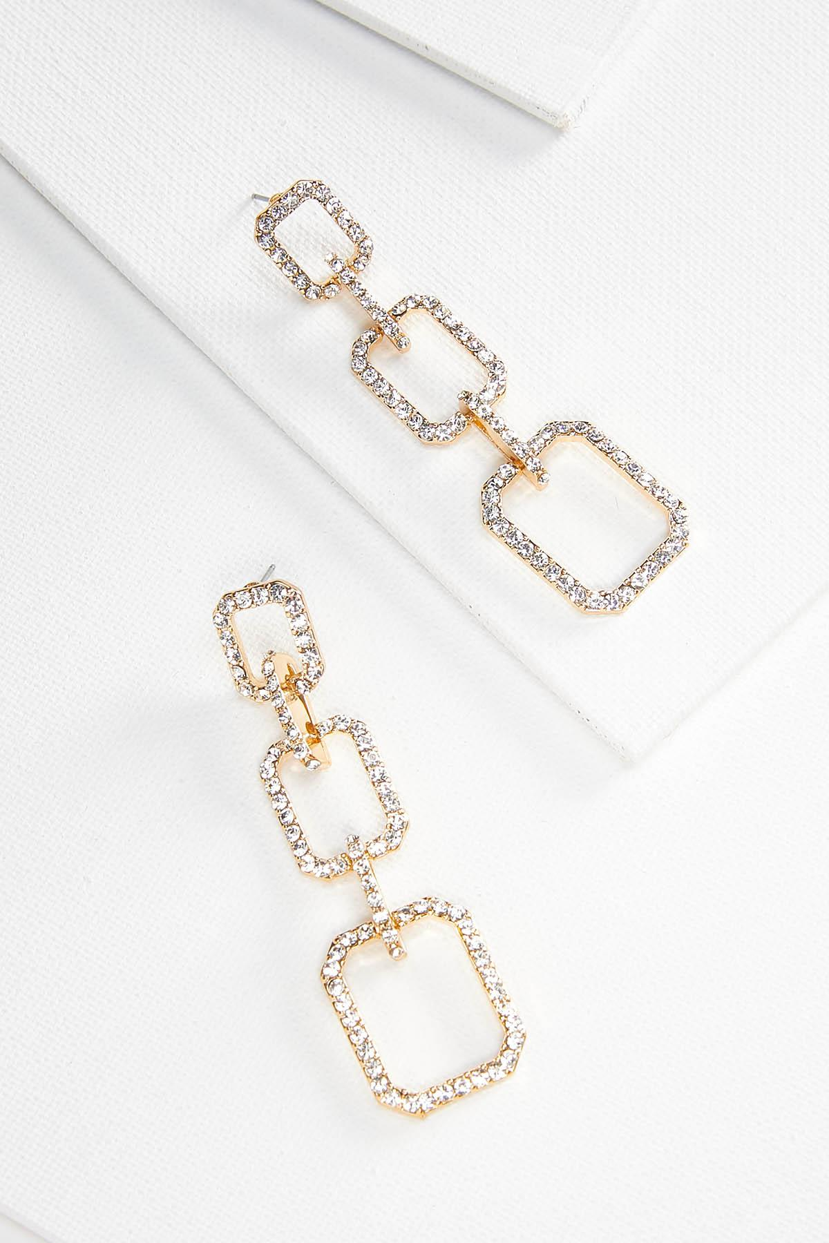 Sparkly Chain Earrings