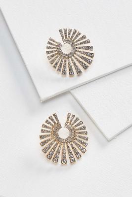 sparkle starburst earrings