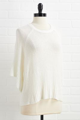let`s bow back sweater