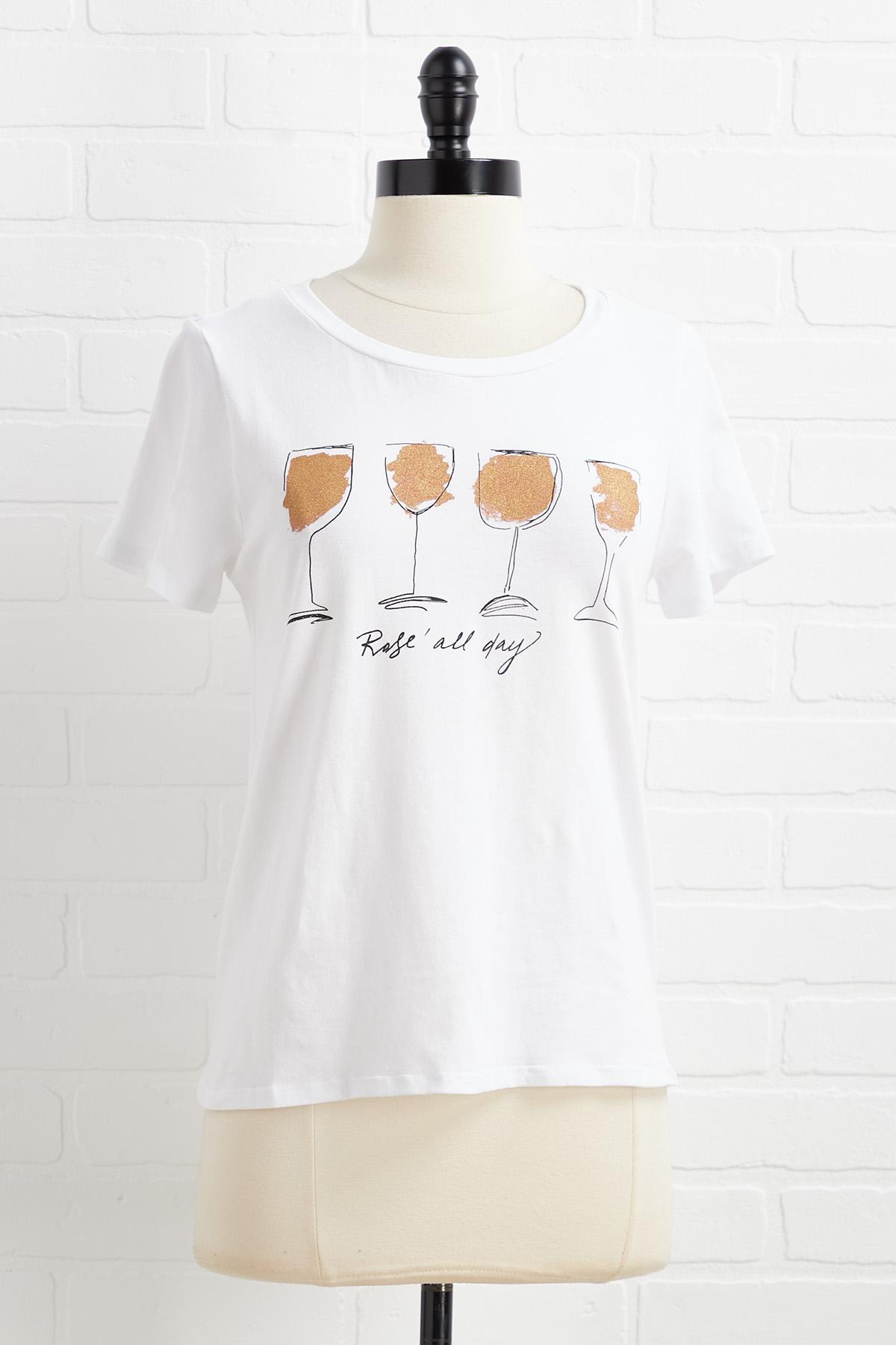 Rose All Day Top
