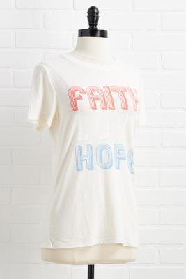 faith love hope top