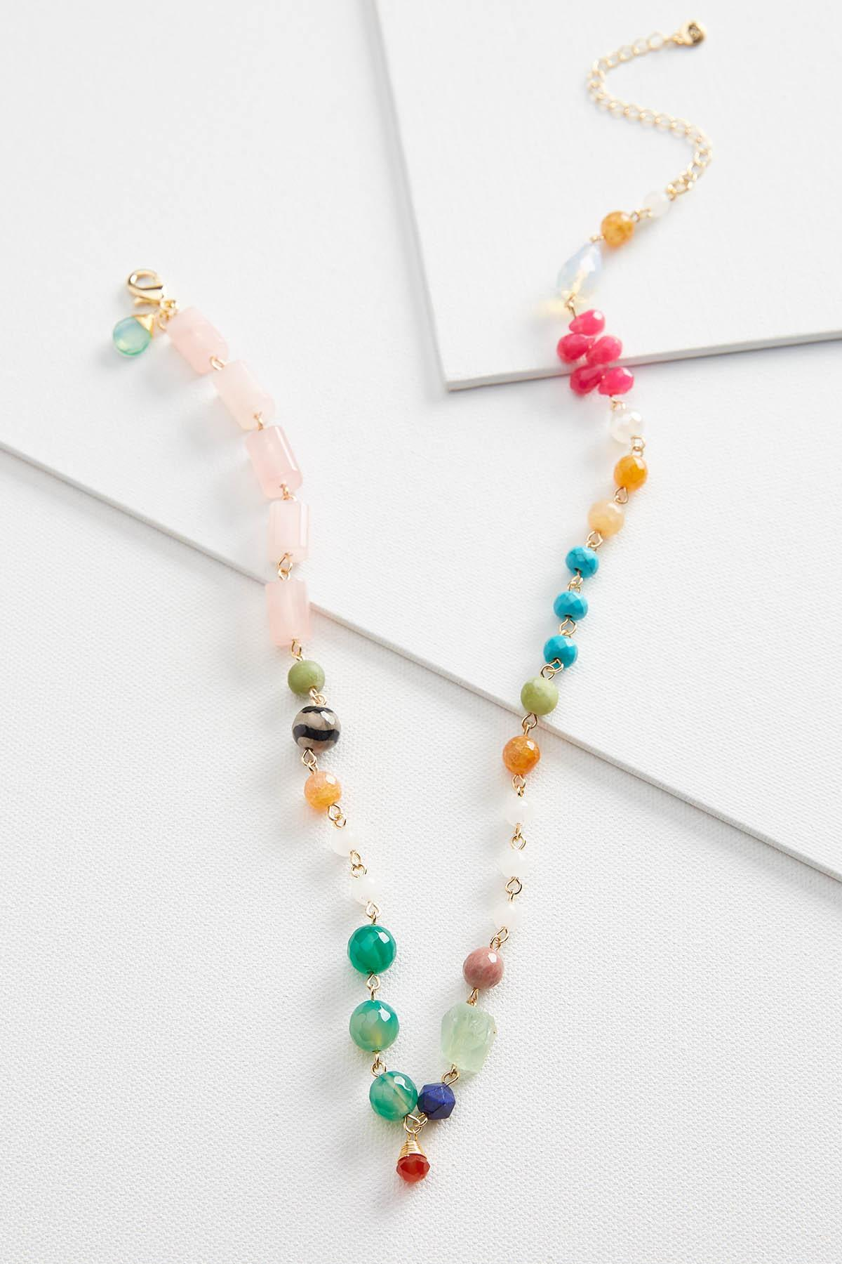 Mixed Beaded Necklace