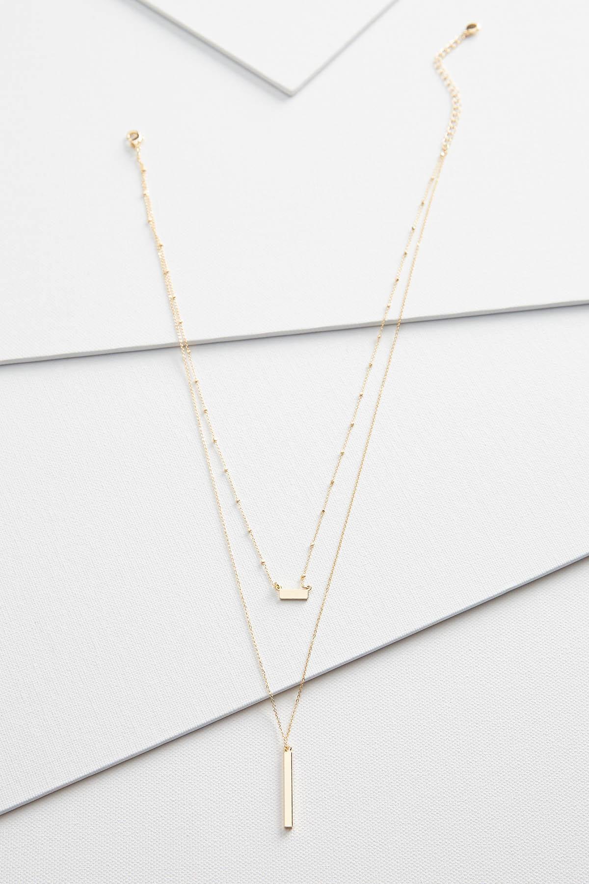 Dainty Bar Necklace