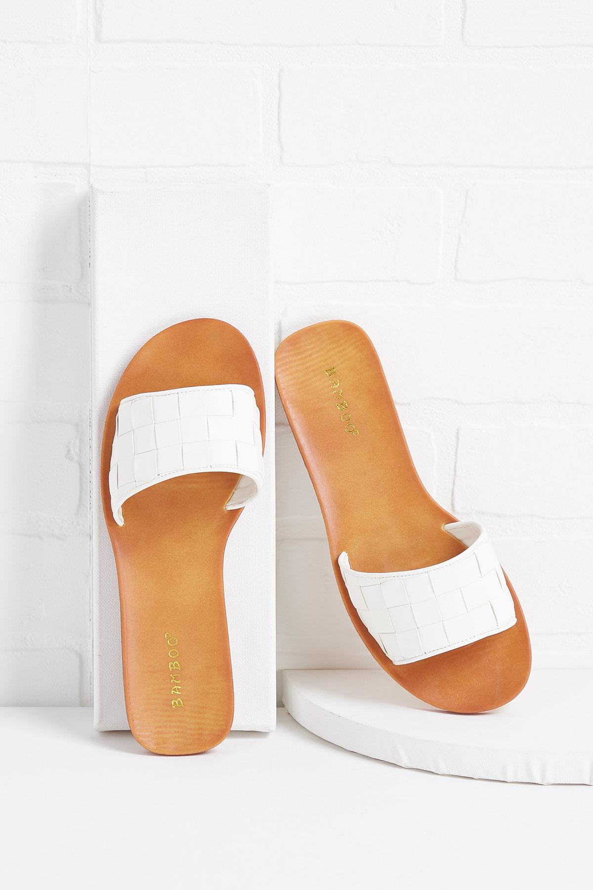 Stay Or Weave Sandals