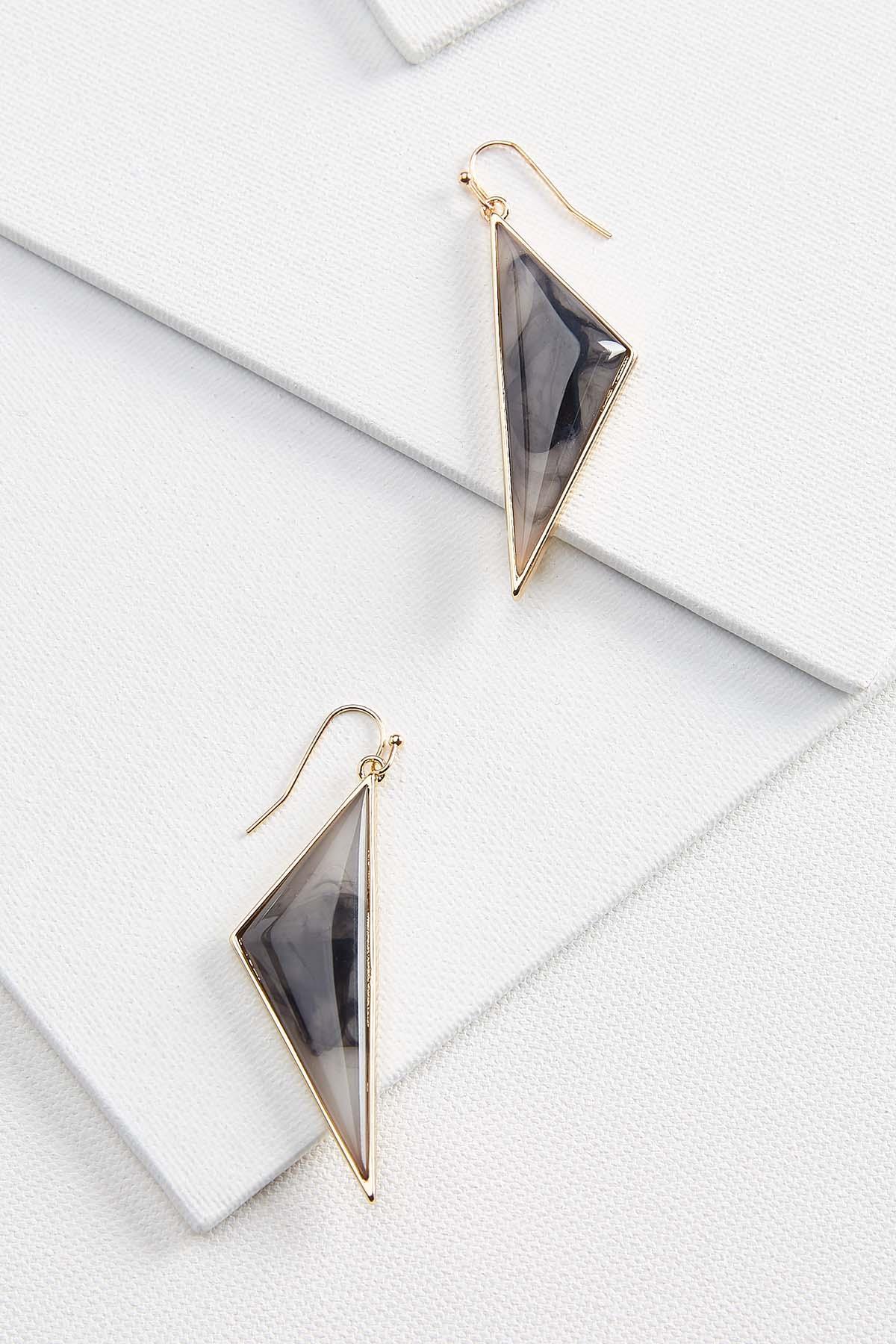 Funky Marble Earrings