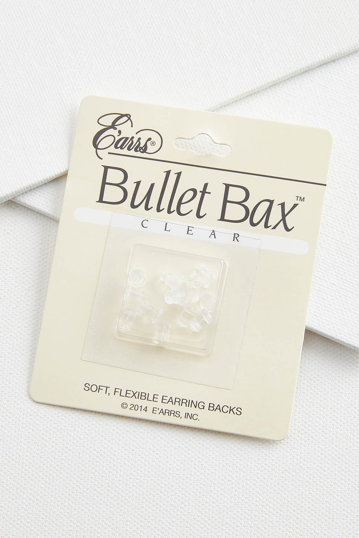 Clear Earring Backs