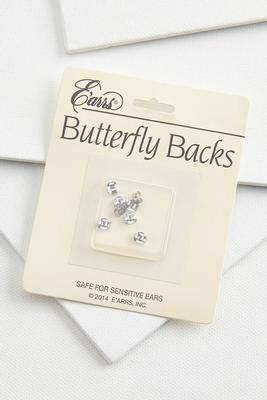 butterfly earring backs
