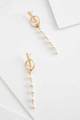 hoop and bar earrings
