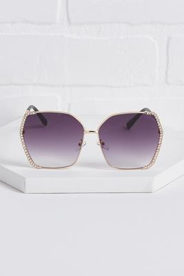 stone embellished sunglasses