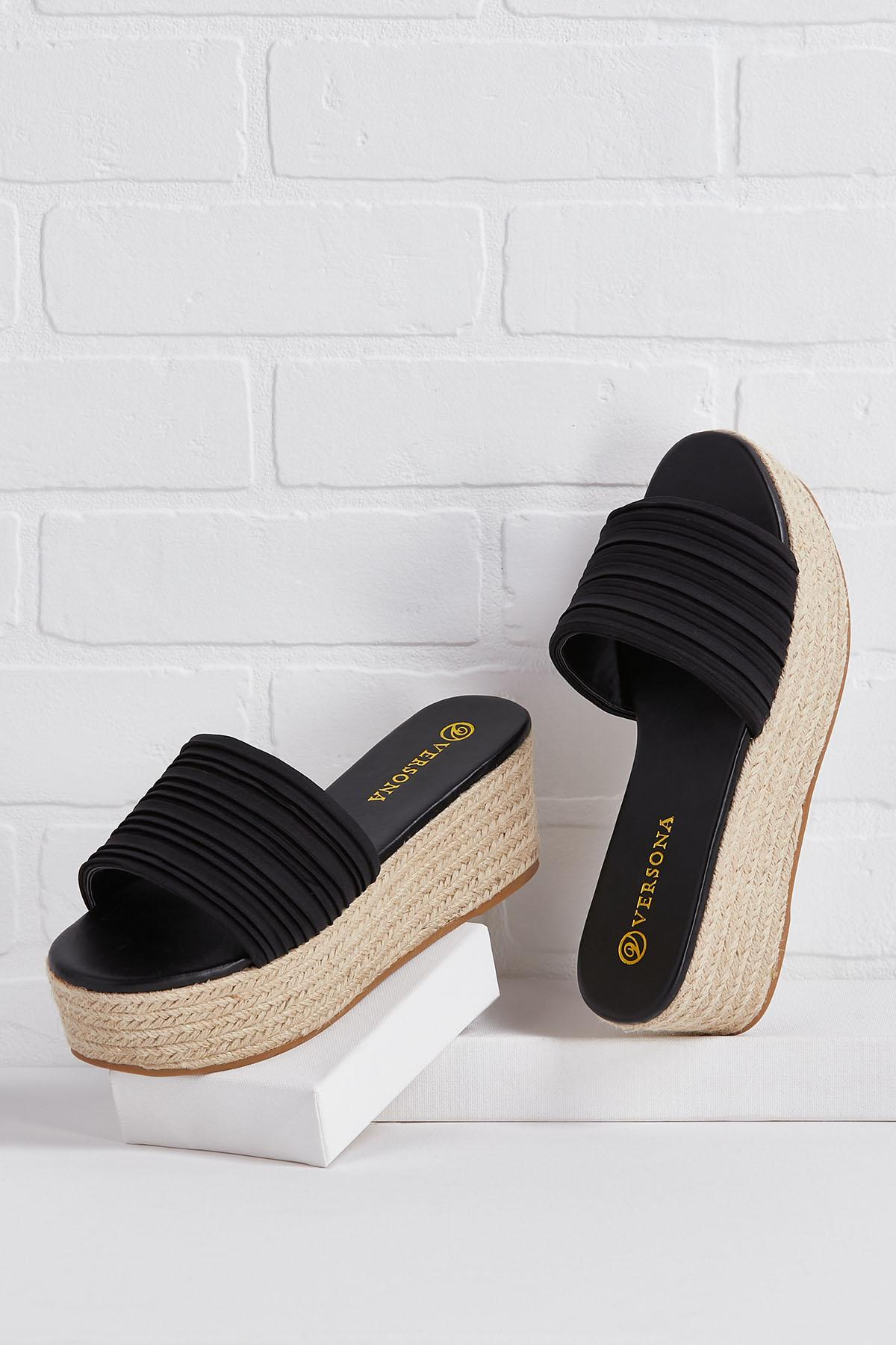 Paid Time Off Sandals