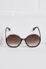 Round Ombre Sunglasses