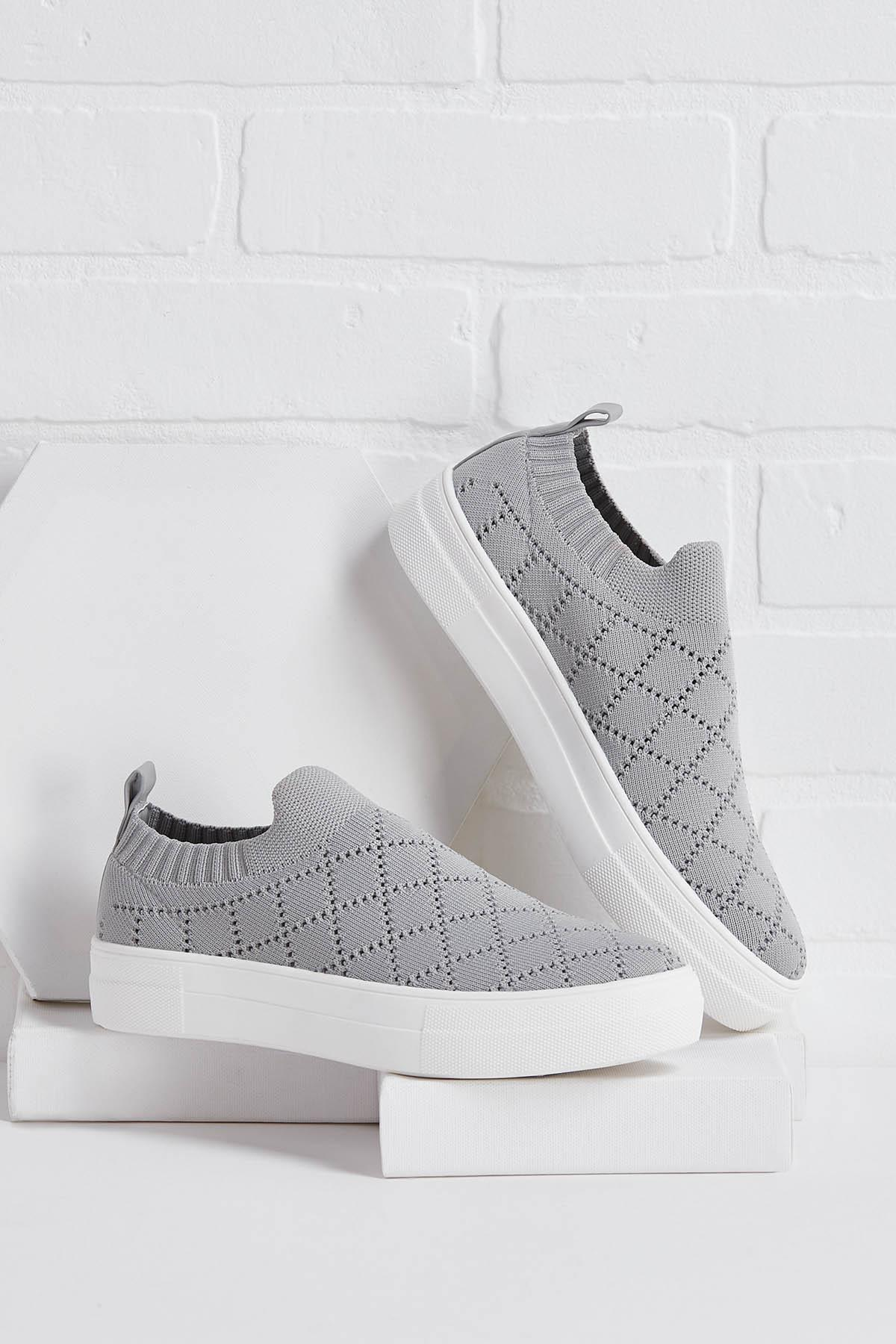 Knit The Ground Running Sneakers