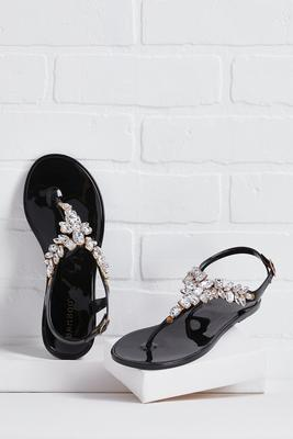 getting glam sandals