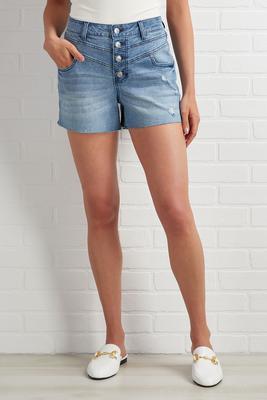 blissfully blue shorts
