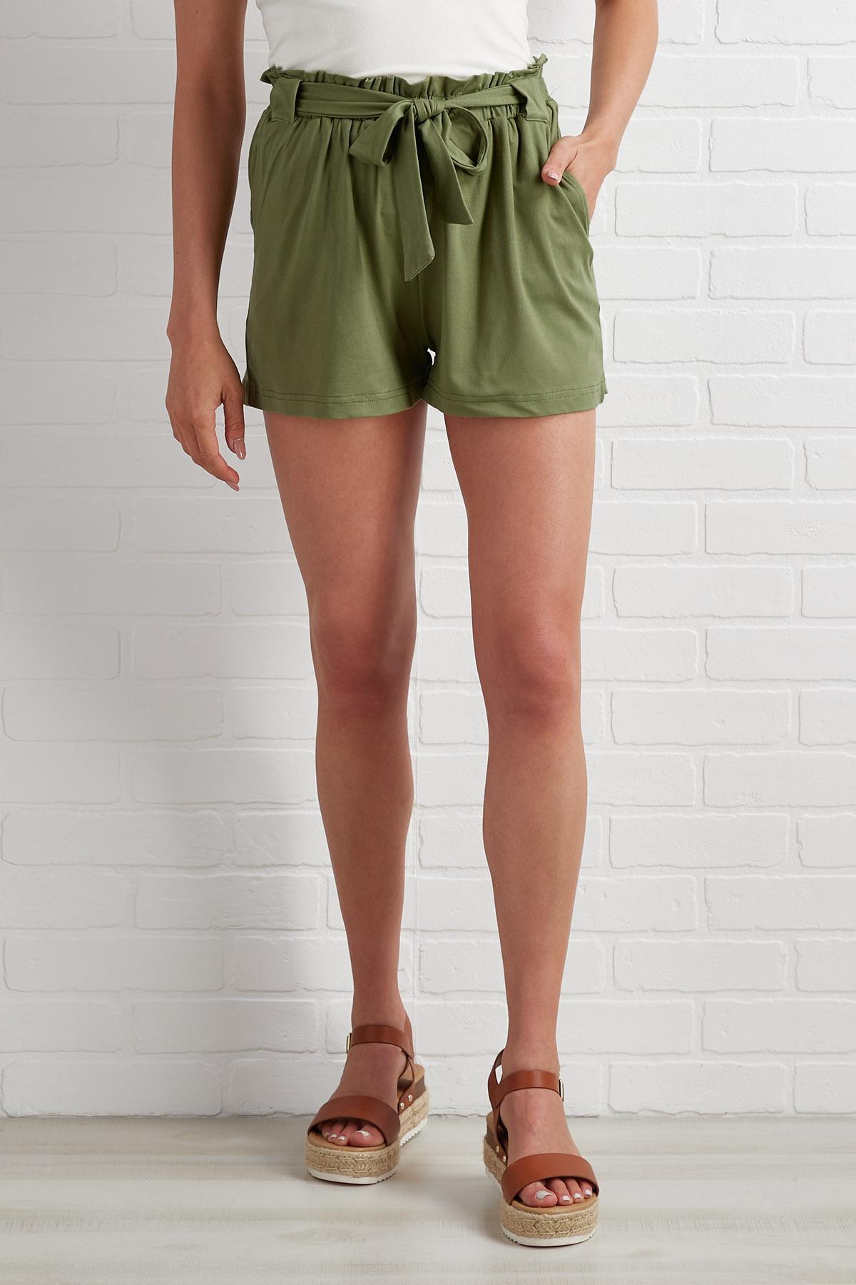 Summer Greenery Shorts