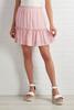 Pink Peonies Skirt