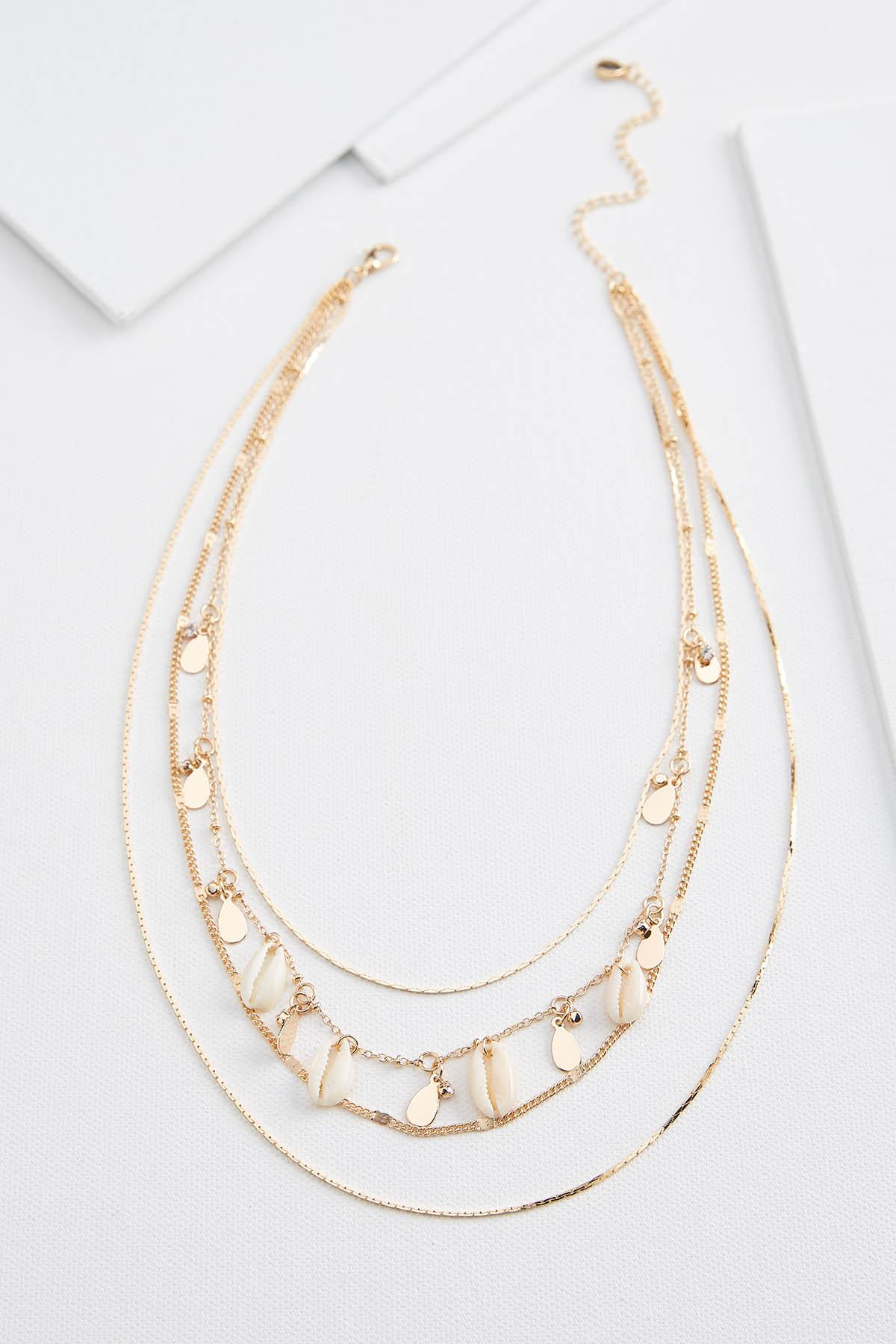 Layered Shell Necklace