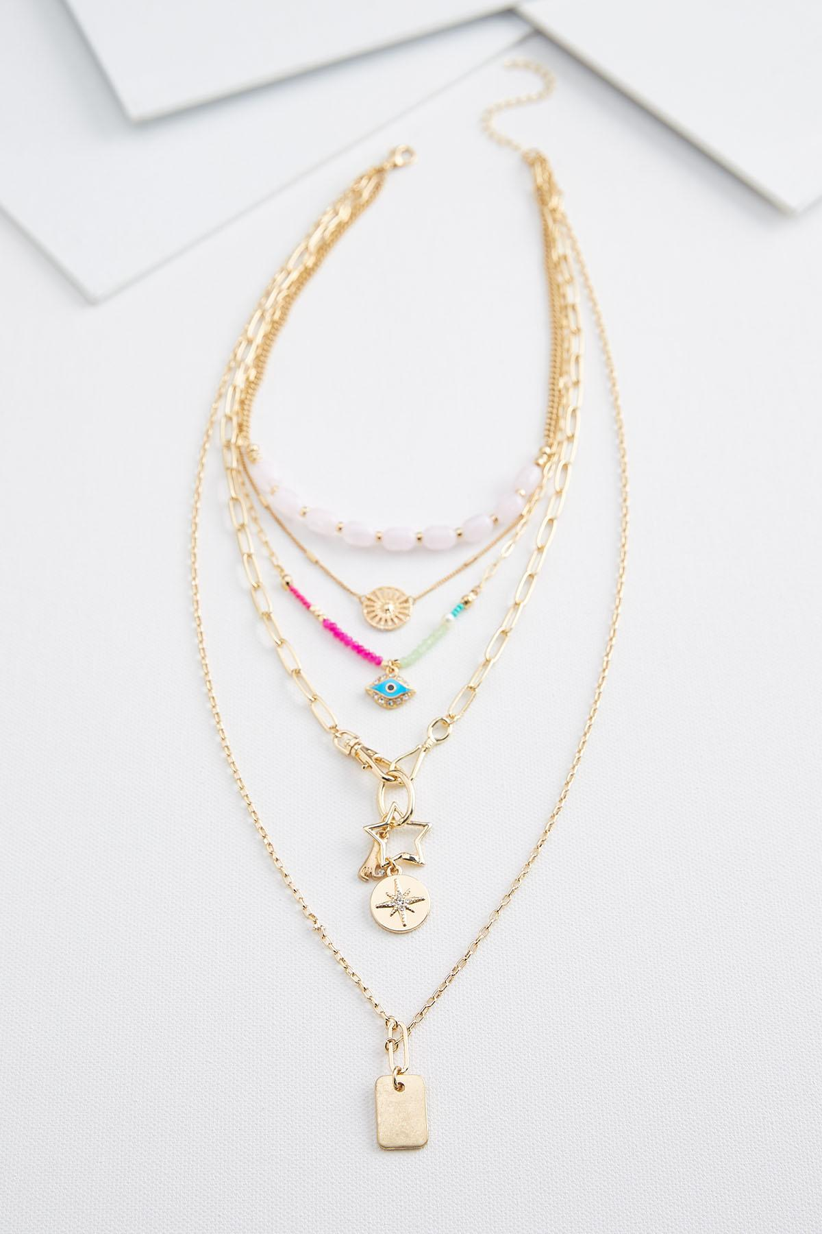 Whimsical Layered Necklace