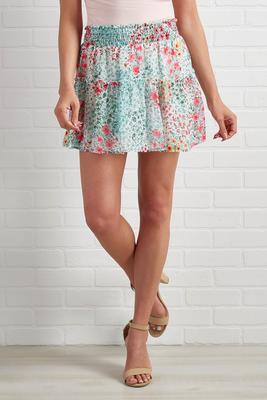 garden party skirt