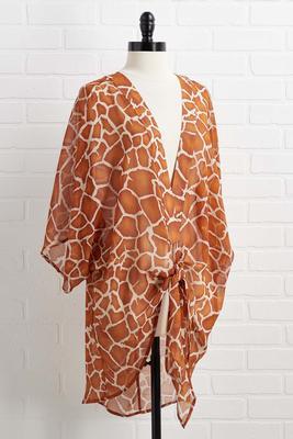 style safari kimono