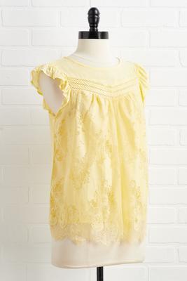 yellow and goodbye top