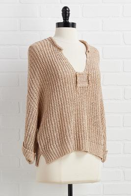 in the sand sweater