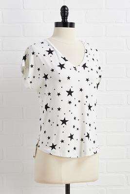 near or star top