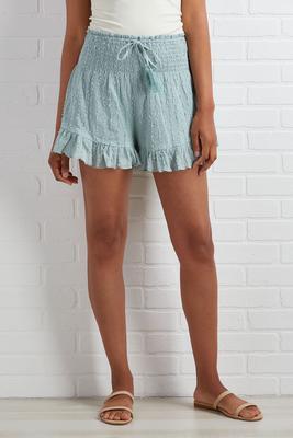 smock before you enter shorts