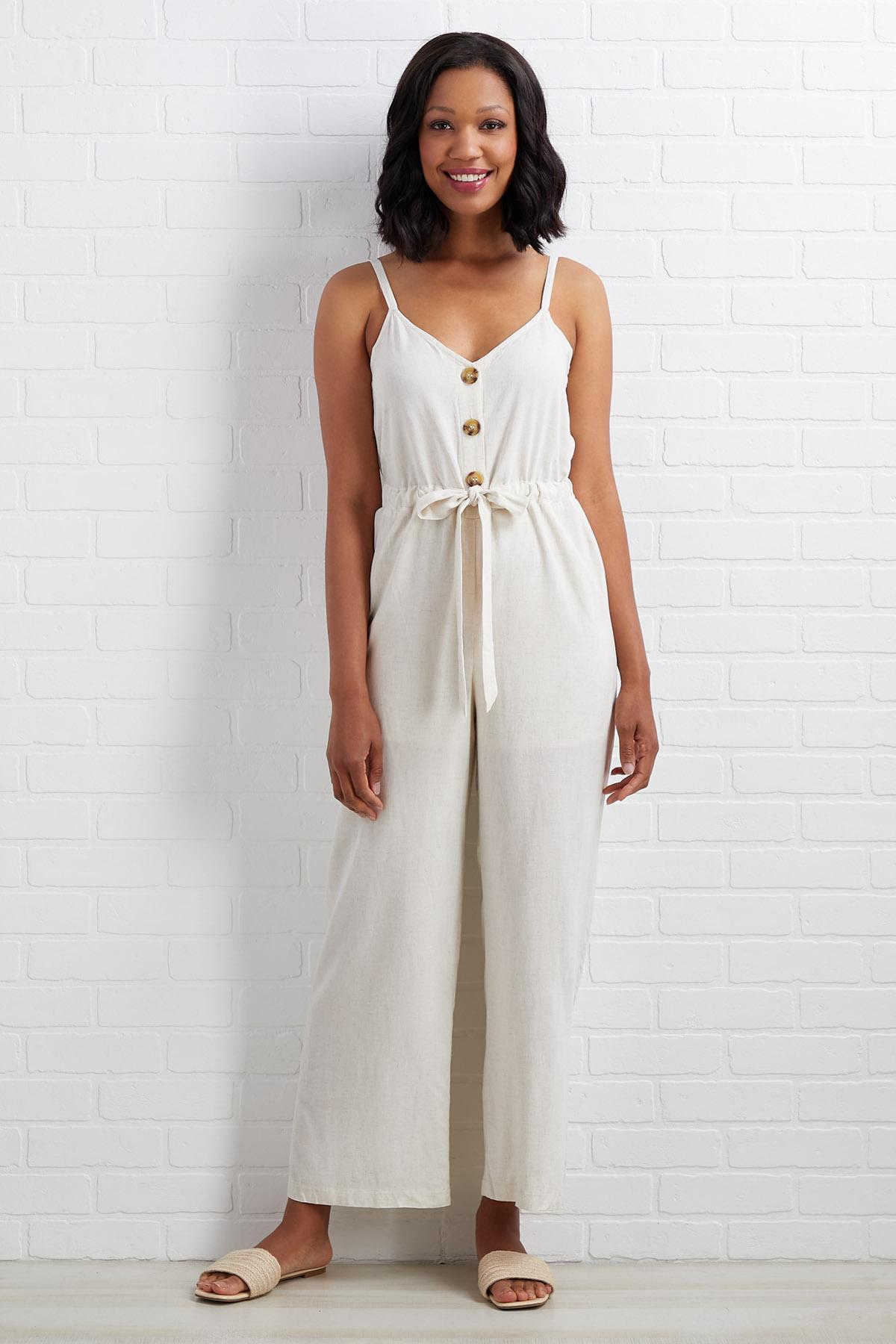 Loving In Linen Jumpsuit