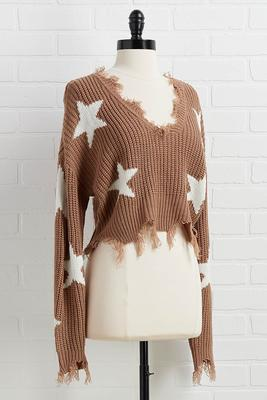 you`ll go star sweater