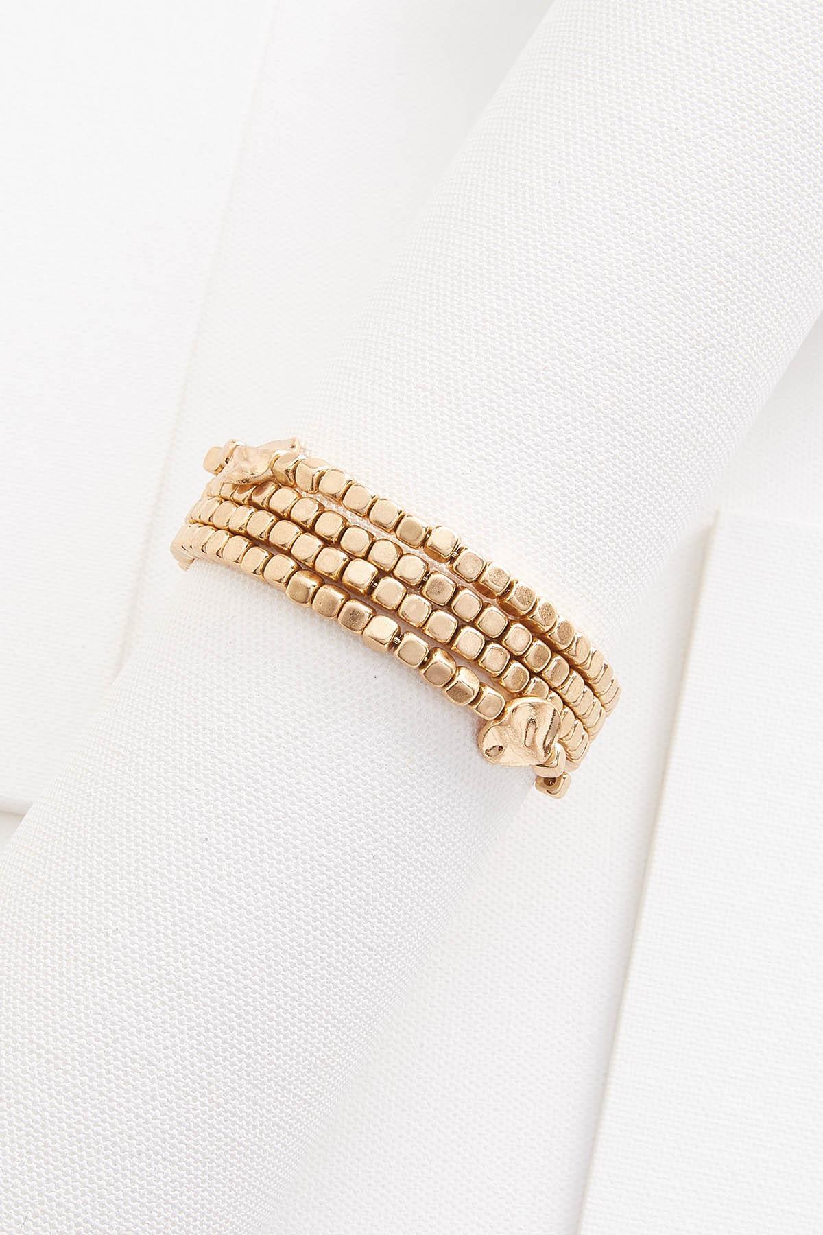 Golden Coil Bracelet