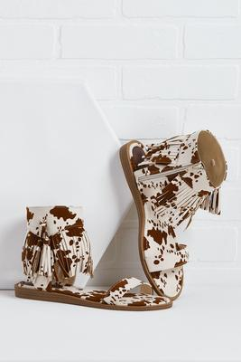 cow are you sandals