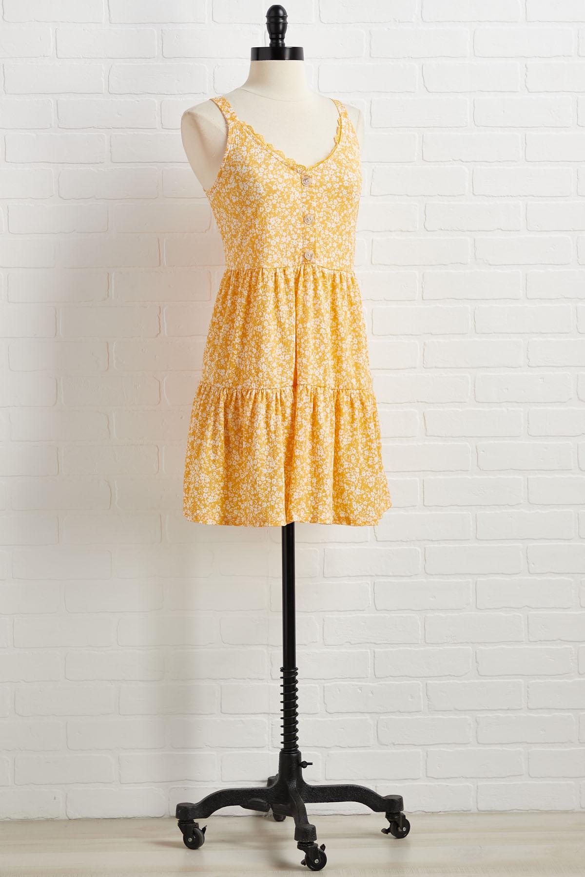 Golden Girl Dress