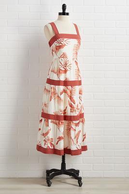 stay or leaf dress