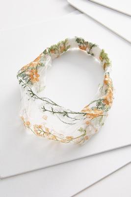 floral stitch headwrap