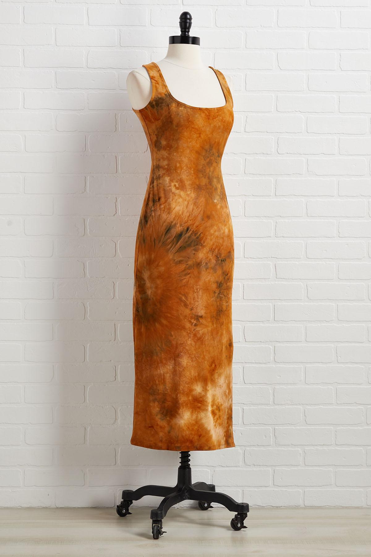Slit Down And Listen Dress