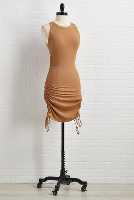 don`t ruche perfection dress