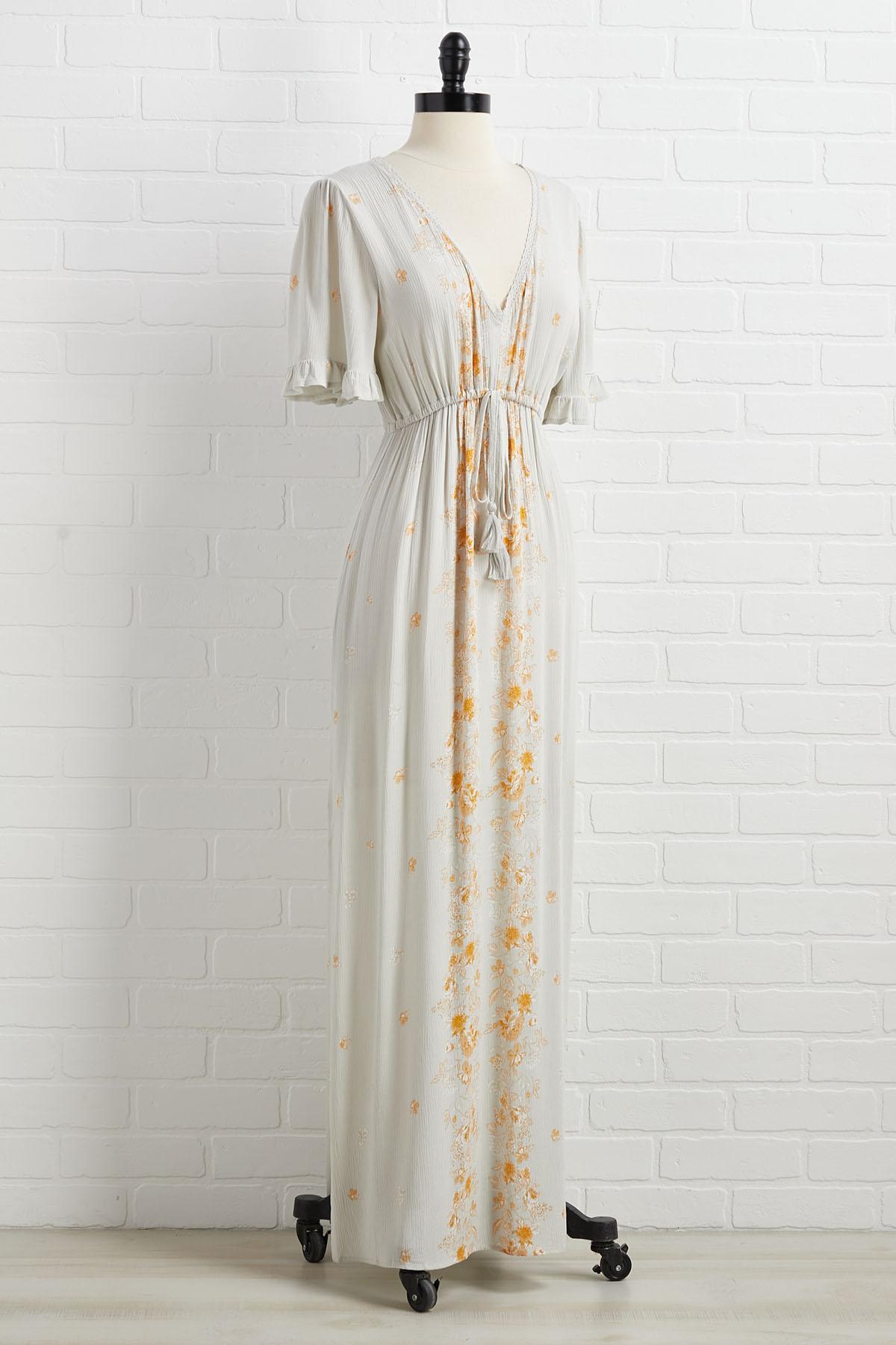 Flower Couple Dress