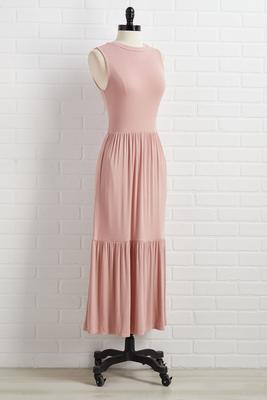 pink skies dress